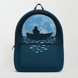 Hooked by Moonlight Backpack