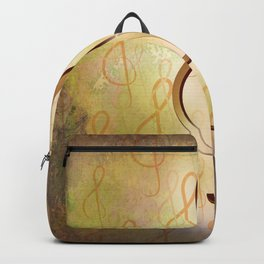 Treble Clef Music Symbol Backpack