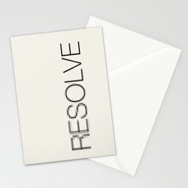 Resolve Stationery Cards