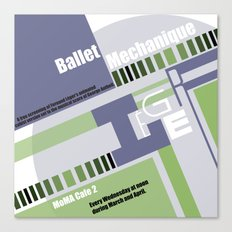 Leger Ballet Mechanique Canvas Print