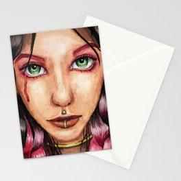 Wounded Soul Stationery Cards
