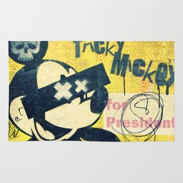 Tricky Mickey (Painted Version) Rug
