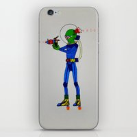 physics iPhone & iPod Skins featuring Alien Physics  by DApple