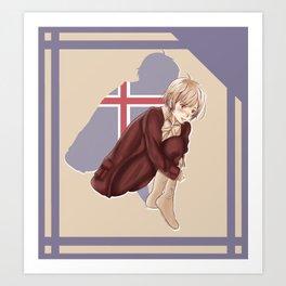 Aph Iceland Illustration Art Print