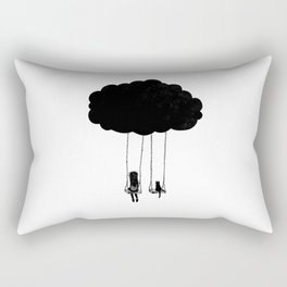 Under the sky Rectangular Pillow