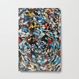 Pattern № 89 Metal Print