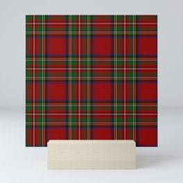 Royal Stewart Tartan Clan Mini Art Print