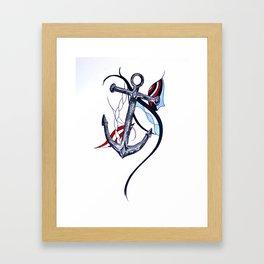 Tara's Tied Down Framed Art Print