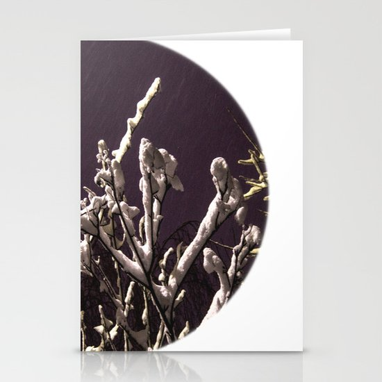 Saying goodbye to winter Stationery Cards
