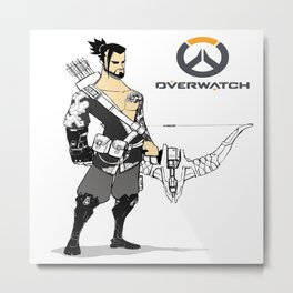 hanzo the archer Metal Print