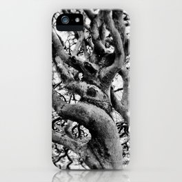 Twisted And Gnarled iPhone Case