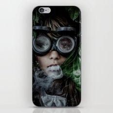 Steampunk girl iPhone Skin
