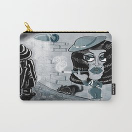 Femme Fatale and the Unknown Man, film noir Carry-All Pouch