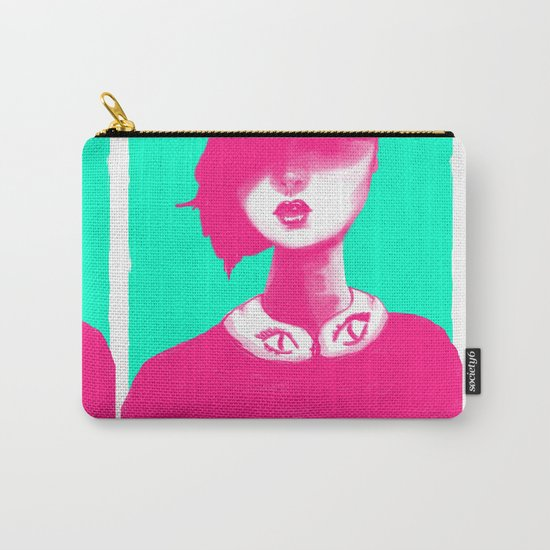 Contemporary Collar Carry-All Pouch