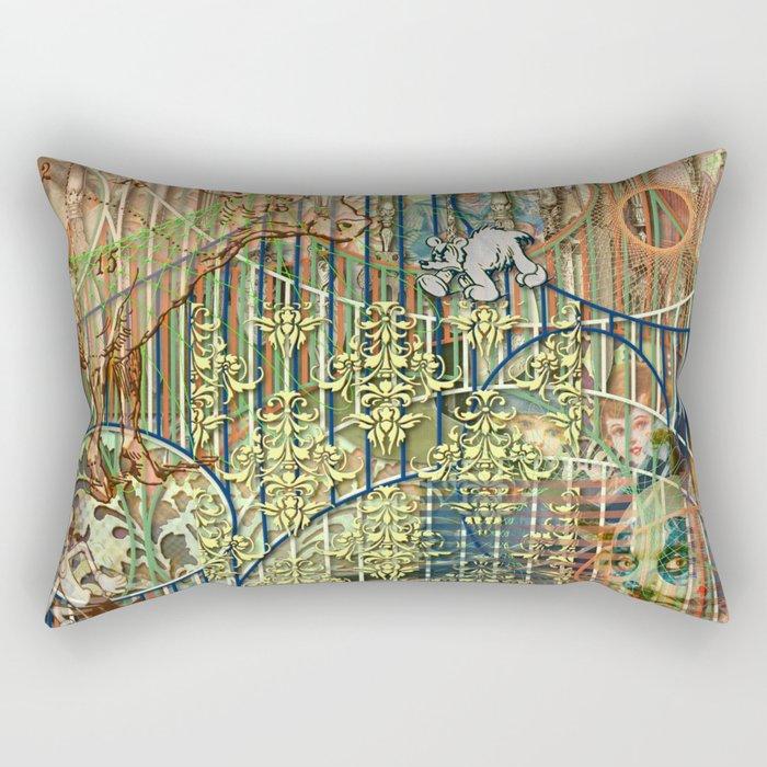 Driving Out Miss Martineau (2) Rectangular Pillow