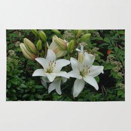 Blooming Lilies Rug