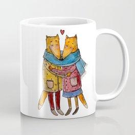 lovely foxes Coffee Mug