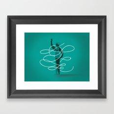 Composition 3 Framed Art Print