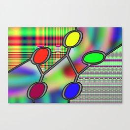 Interconnected zeros Canvas Print