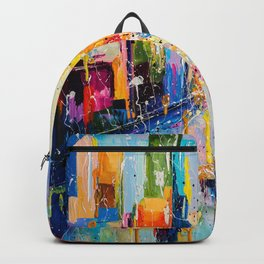 RAINING IN THE CITY Backpack