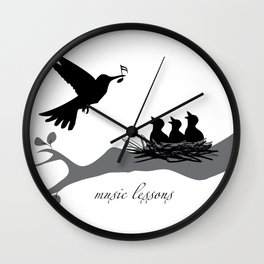 music lessons Wall Clock