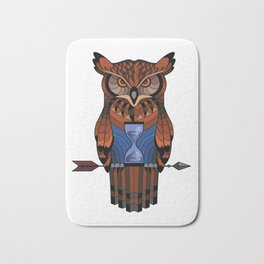 Owl time Bath Mat