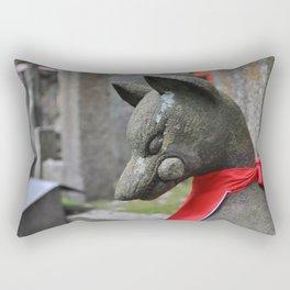 Kitsune Fox Rectangular Pillow