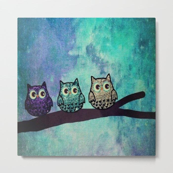 owl-45 Metal Print