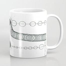 black sparkle Coffee Mug