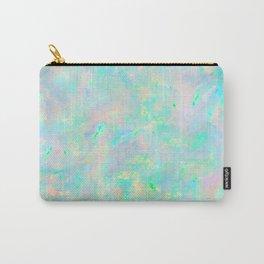 Light Blue Opal Carry-All Pouch