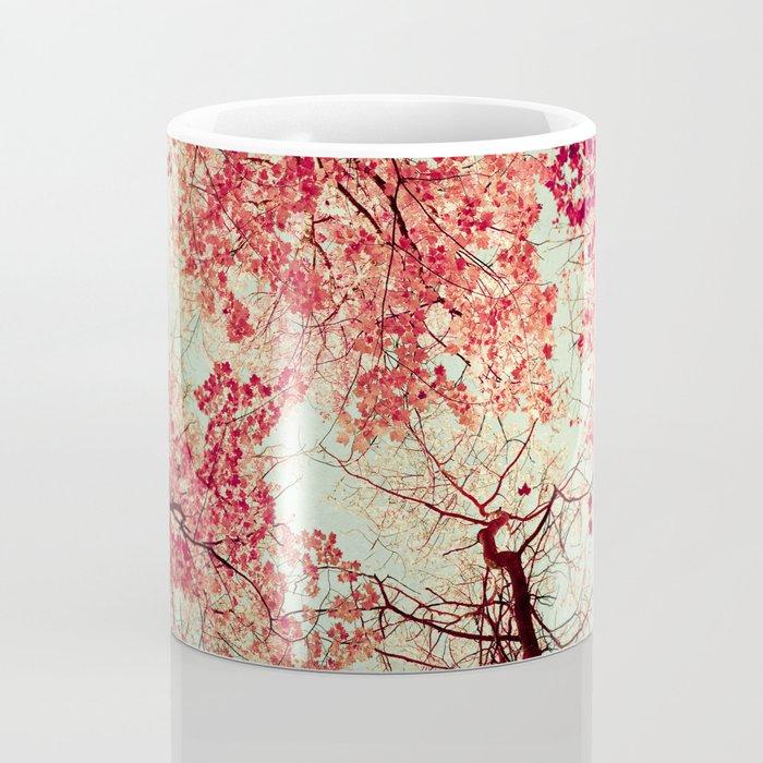 Autumn Inkblot Coffee Mug
