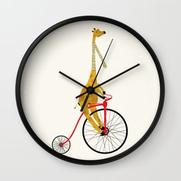the high wheeler Wall Clock