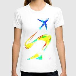 Rainbow Jet T-shirt
