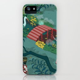 Ukiyo-e tale: The beginning of the trip iPhone Case