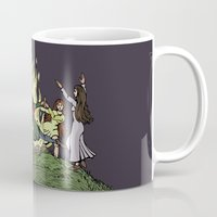 kindle Mugs featuring Fairy Dance by Richard Fay
