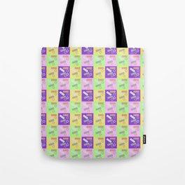 Checky Check Tote Bag