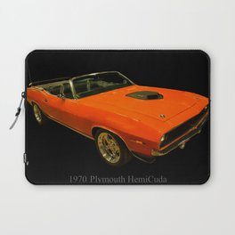 1970 Plymouth Hemicuda Convertible Laptop Sleeve