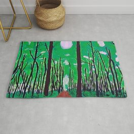 Guiding Spirit of the Forest Rug