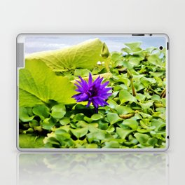 Tropical Purple Flower Laptop & iPad Skin