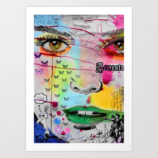memento Art Print