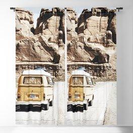 Boho Van Desert Road Trip  Blackout Curtain