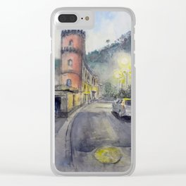 Sorrento, road Clear iPhone Case