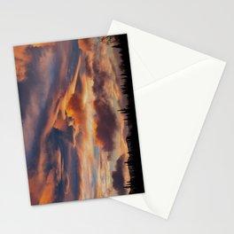 Good Morning Anchorage, Alaska Stationery Cards