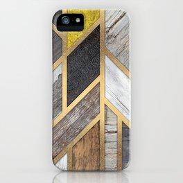 Rustic Scandinavian Design - Wide iPhone Case