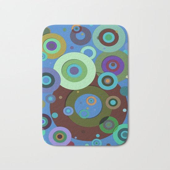 Op Art #9 Bath Mat