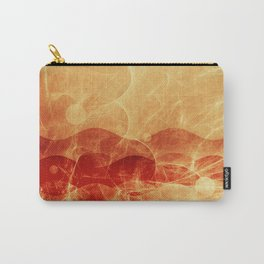 Energy Waves - Fire Version Carry-All Pouch