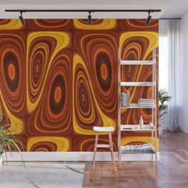 Amber Lava 25 Hi Res Wall Mural