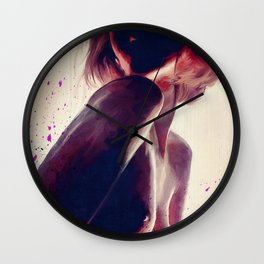 The Nude Silhouette - Faceless Beauty Wall Clock