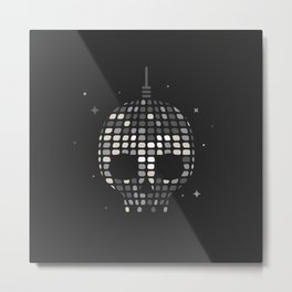 Death Disco Metal Print
