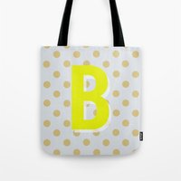 B is for Beautiful Tote Bag